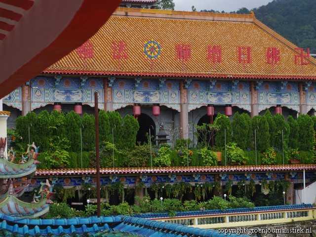 Kek Lok Si tempel – Temple of Supreme Bliss , penang, georgetown, monniken